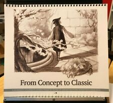 Disney From Concept to Classic Animation Drawings 23-Month Calendar 2012-2013