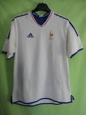 Maillot Equipe de France Femme Adidas Vintage Jersey Football Double couche - M