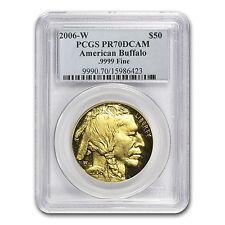 2006-W 1 oz Proof Gold Buffalo Coin - PR-70 PCGS