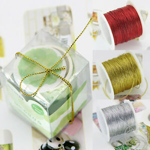 20 M 1mm Rope Cord Thread String Strap Ribbon Rope Tag Line Bracelet Making Gift