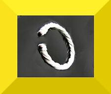 New 925 Silver / White Charming  Bangle Bracelet FREE SHIPPING # 163