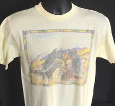 Rare Vtg WESTERN LLAMAS T Shirt GRAPHIC TEE 90's USA Mexican SOUTH AMERICAN Art