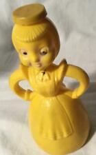 VINTAGE 1950 MERRY MAID LAUNDRY SPRINKLER PLASTIC BOTTLE