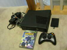 Microsoft Xbox 360 S Model 1439 250GB complete Console BUNDLE + Tested   SONIC