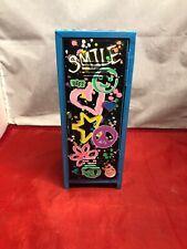 "Justice Mini Storage Locker for American Girl / 18"" Dolls Jewelry EUC Peace BFF"