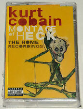 KURT COBAIN - MONTAGE OF HECK: THE HOME RECORDINGS, ORG 2015 CASSETTE, SEALED!