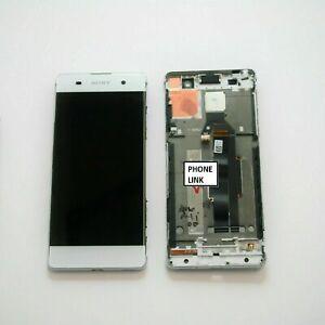 Original Sony Xperia XA F3111 F3113 LCD Touch Screen Digitizer Back Cover WHITE