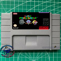 100 Rooms of Enemies Super Mario World SNES Video Game US Version