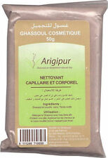 100 X 50g Sachets of Moroccan Rhassoul Clay Powder for Face Masks Skin & Hair