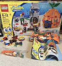 Lego 3818 Spongebob Bikini Bottom Undersea Party INCOMPLETE