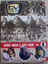 DVD - 3 DVDs - tv-total - Vol.4 - Stefan Raab - Elton - Max Mutzke