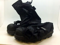 STABILicers Voyager Overshoe Traction Ice Cleat for Snow and Ice,, Black, Size
