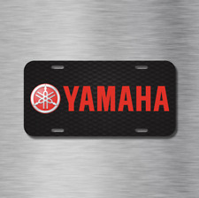 Yamaha Motorcycle boat Atv snowmobile Vehicle License Plate Front Auto Tag NEW