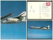 Cartolina Air France Aereo Caravelle – Airplane Caravelle