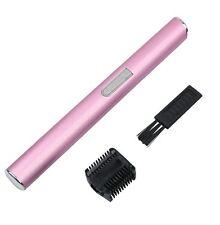 Faccia elettrico Sopracciglia Trimmer per capelli mini portatile Donna Corpo Rasoio Remover