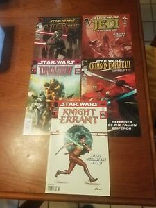 Dark Horse Comics Star Wars lot of 5  Lucas Books all from 2011 Dirsct issues