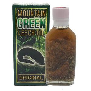 Leech Oil Mountain Green 100% Organic for Penis Size Longer Bigger Enlargement