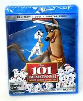 101 Dalmatians II 2 Patch Blu-ray DVD & Digital Copy No/Slipcover