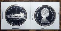 Canada 1984 Toronto Sesquicentennial Proof Gem UNC Silver Dollar!!