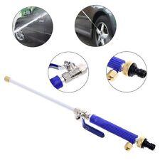 Aluminium High Pressure Power Washer Spray Nozzle Water Gun Hose w/2x Spray Tips