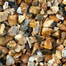 Decorative Aggregates Chippings Golden Gravel 20mm Gardens 20kg Fast Tracked P&P