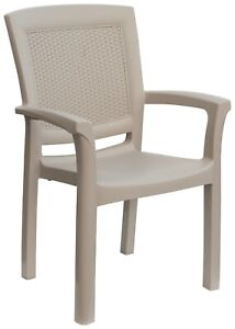 Green Boheme Maxi Amazon Rattan Indoor Outdoor Patio Dining Chairs - 2 Chairs