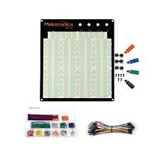 Makeronics Solderless 3220 Breadboard Complete Kit 3220 Tie Points Experiment