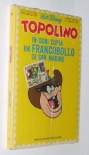 Topolino n. 808 del 1971 con francobollo S.Marino - blisterato