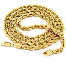 HK- Unisex Charm Jewelry Goldplated Twist Chain Choker Necklace Sanwood