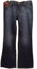 """7 For All Mankind Bootcut In Nikita Women's 31"""" Blue Jeans Retail $198 NWT"""