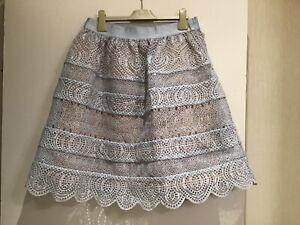 Amazing ZIMMERMANN lace anglaise skirt