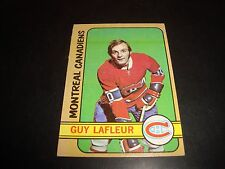 Guy Lafleur 1972-73 Topps Hockey #79 VG+/EX Condition Montreal Canadiens