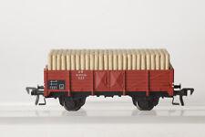 Fleischmann H0 5203 offener Güterwagen K DB Grubenholzladung 631 025 (7354-70)