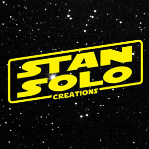 You Choose Stan Solo Star Wars Reproduction Custom Vintage-Style Action Figures