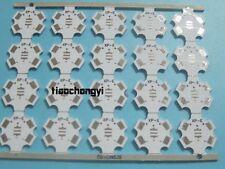 10pcs CREE XPE XPG 1W 3W 5W LED PCB Alu 20mm Star base plate Circuit board DIY