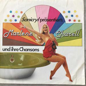 MARLENE CHARELL und ihre Chansons (Werbeflex Sanicryl / Hoesch (SH 1190/91-1)