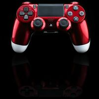 PS4 Controller original Playstation Custom White Apple