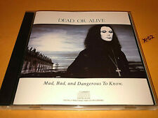 DEAD OR ALIVE Mad Bad and Dangerous To Know CD hits Brand New Lover St in my Hou