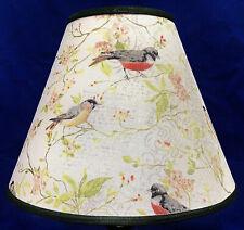 Birds on Dogwood Branches Lampshade Handmade Lamp Shade