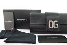AUTHENTIC D G Dolce & Gabbana Sunglasses 6046 DG6046 Black grey round dg CASE