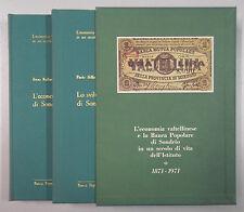 Valtellina ECONOMIA PROVINCIA SONDRIO - BANCA POPOLARE 1976 2 volumi