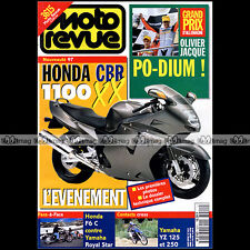 MOTO REVUE N°3241 HONDA CBR 1100 XX GL 1500 F6C YAMAHA XVZ 1300 ROYAL STAR 1996