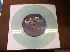 "Blink-182 They Came To Conquer Uranus CLEAR BLUE WATER VINYL 7"" Record! non lp!!"