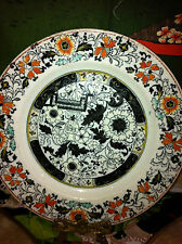 "Stunning ASHWORTH Impressed Real Iron Stone China Plate 7-1/4"" RARE"