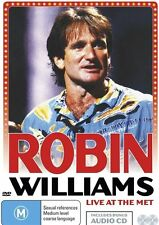 Robin Williams: Live at the Met (Inc CD) NEW R4 DVD