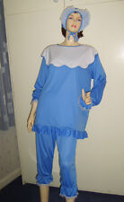 Unisex Big Baby Suit Blue Fancy Dress Costume Medium Used