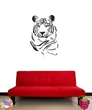 Wall Sticker Tiger Animal Predator Modern Decor for Living Room  z1344