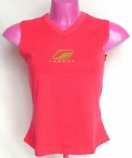 REEBOK WOMENS LOGO VEST, TOP SPORTS FITNESS WOMENS PINK UK 12