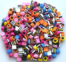 100 Media Misto Fimo Bertie Bassett-Liquirizia Allsorts Beads