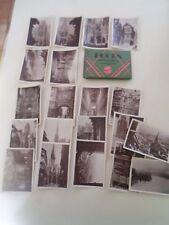 VINTAGE 20 Snap Shot Photos ROUEN FRANCE ~ SMALL B+W Photos